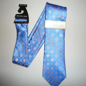 NWT Michael Kors Mens Tie 100% Silk
